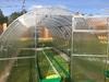 Оцинкованная теплица «VIP усиленная» арочного типа с дугами-фермами